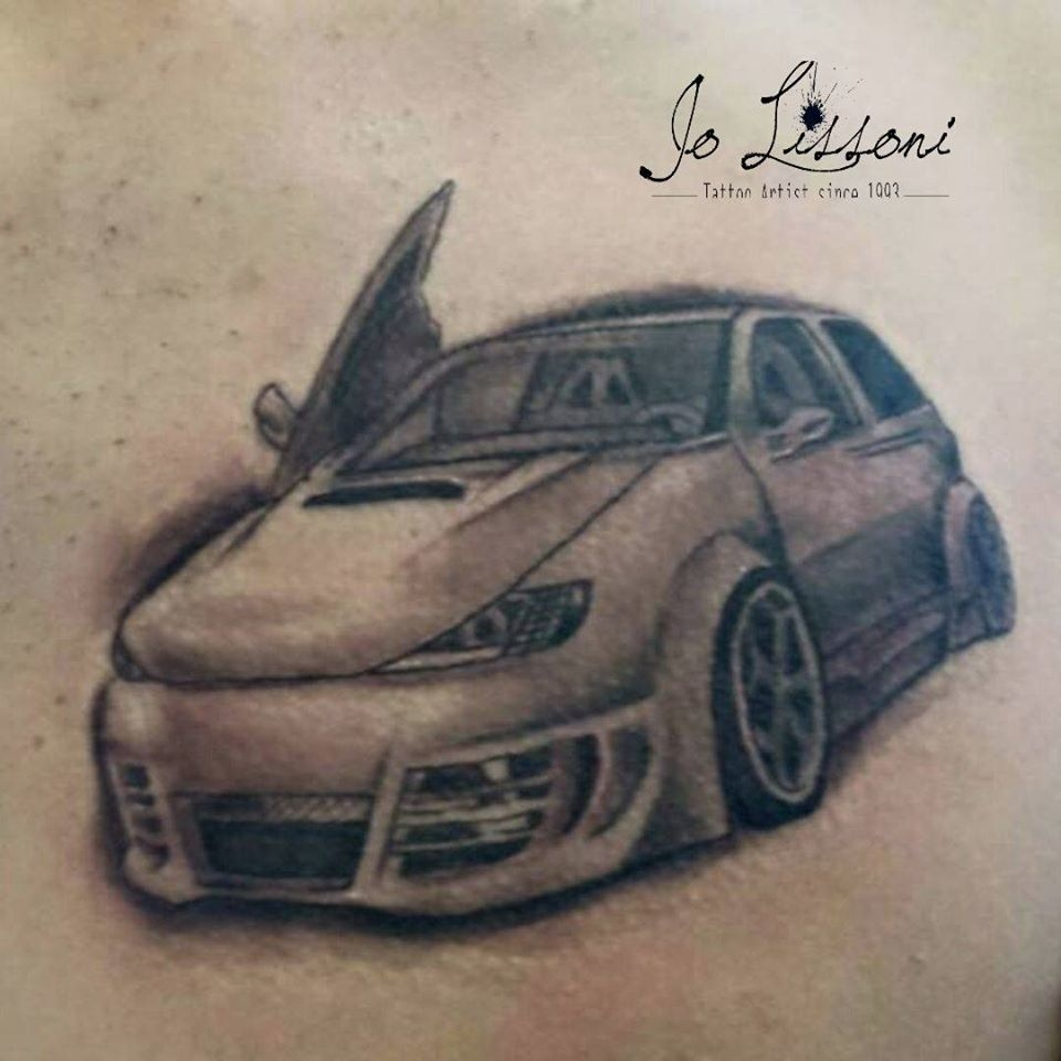 auto tattoo blackgrey tatuaggio realistico 1000x1000 - TATTOO REALISTICO BLACK & GREY