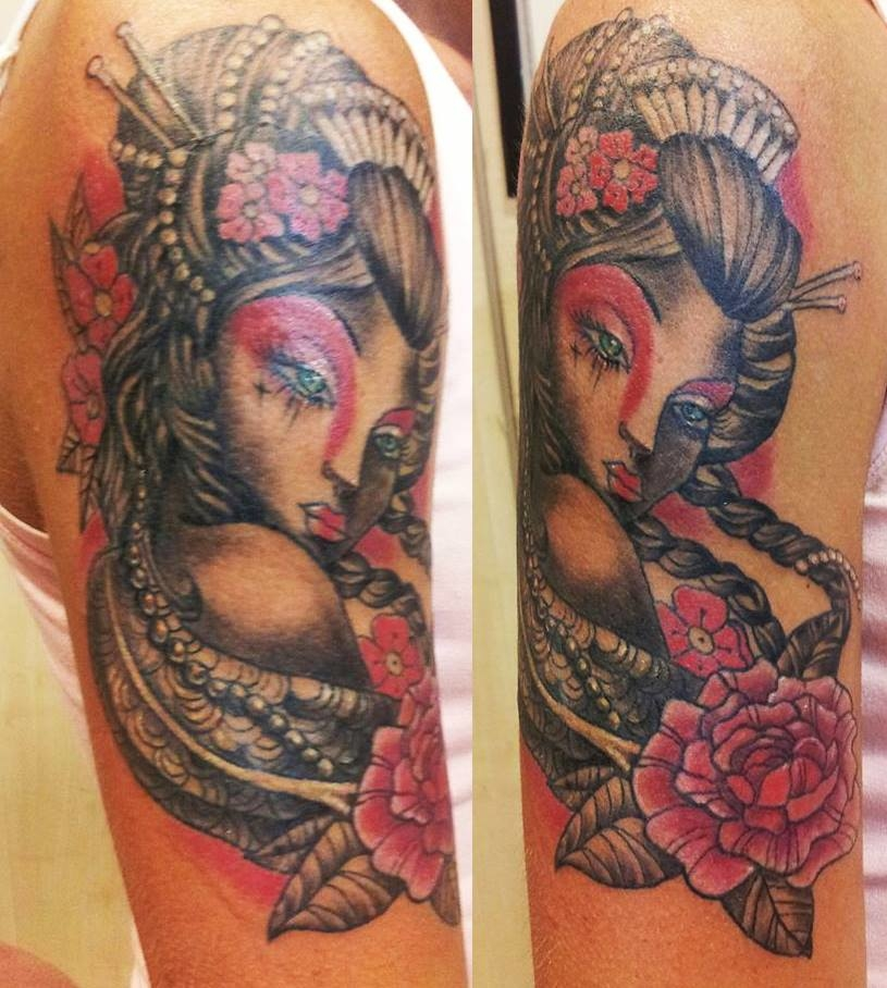 geisha tattoo 2 1000x1000 - TATTOO GRANDI PEZZI BLACK&GREY