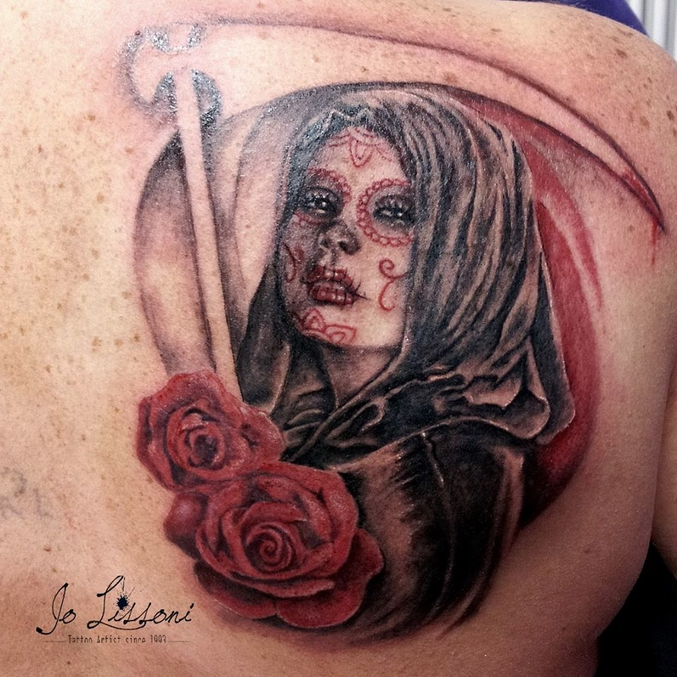 ritratto realistico tattoo nativo gipsy tattoo geisha 2 1000x1000 - TATTOO REALISTICO BLACK & GREY