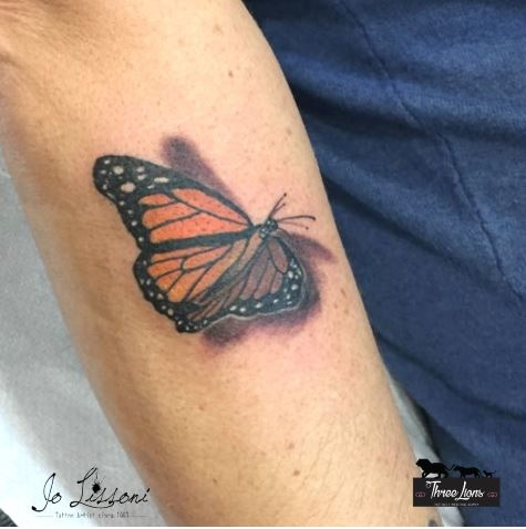 tattoo 3d natura butterfly 3d tattoo jo lissoni tattoo 12 1000x1000 - TATTOO 3D