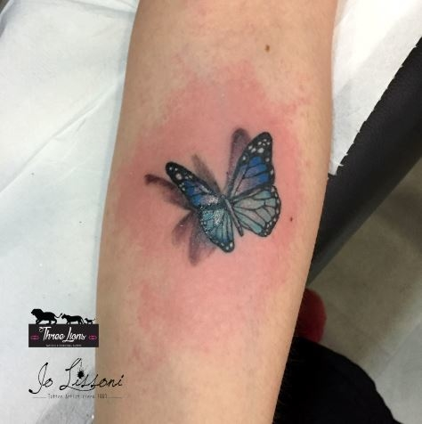 tattoo 3d natura butterfly 3d tattoo jo lissoni tattoo 14 1000x1000 - TATTOO 3D