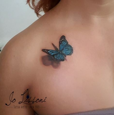tattoo 3d natura butterfly 3d tattoo jo lissoni tattoo 17 1000x1000 - TATTOO 3D