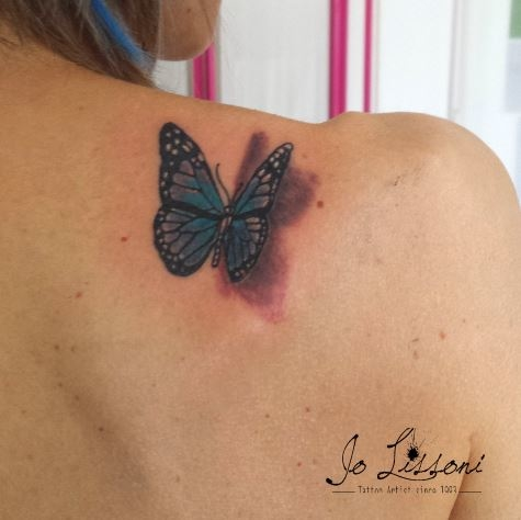 tattoo 3d natura butterfly 3d tattoo jo lissoni tattoo 20 1000x1000 - TATTOO 3D