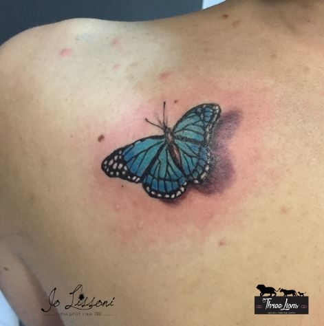 tattoo 3d natura butterfly 3d tattoo jo lissoni tattoo 3 1000x1000 - TATTOO 3D