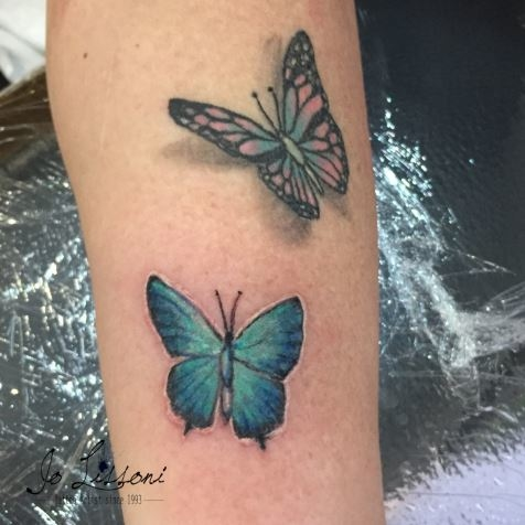 tattoo 3d natura butterfly 3d tattoo jo lissoni tattoo 8 1000x1000 - TATTOO 3D