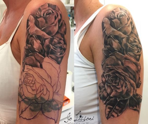 tattoo cover up Jo Lissoni