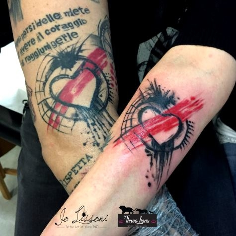 tattoo madre figlia tattoo sorelle tattoo amiche tattoo twins Jo Lissoni 36 1000x1000 - TATTOO DI COPPIA