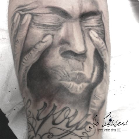tattoo realistico ritratto tattoo nativi Jo Lissoni 1 1000x1000 - TATTOO REALISTICO BLACK & GREY