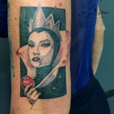 crimilde biancaneve 1000x1000 - TATTOO REALISTICO BLACK & GREY